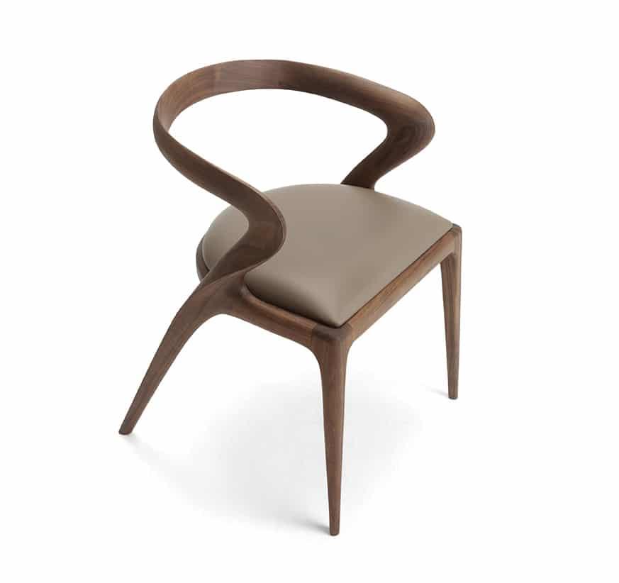 salma chair by Paco Camus